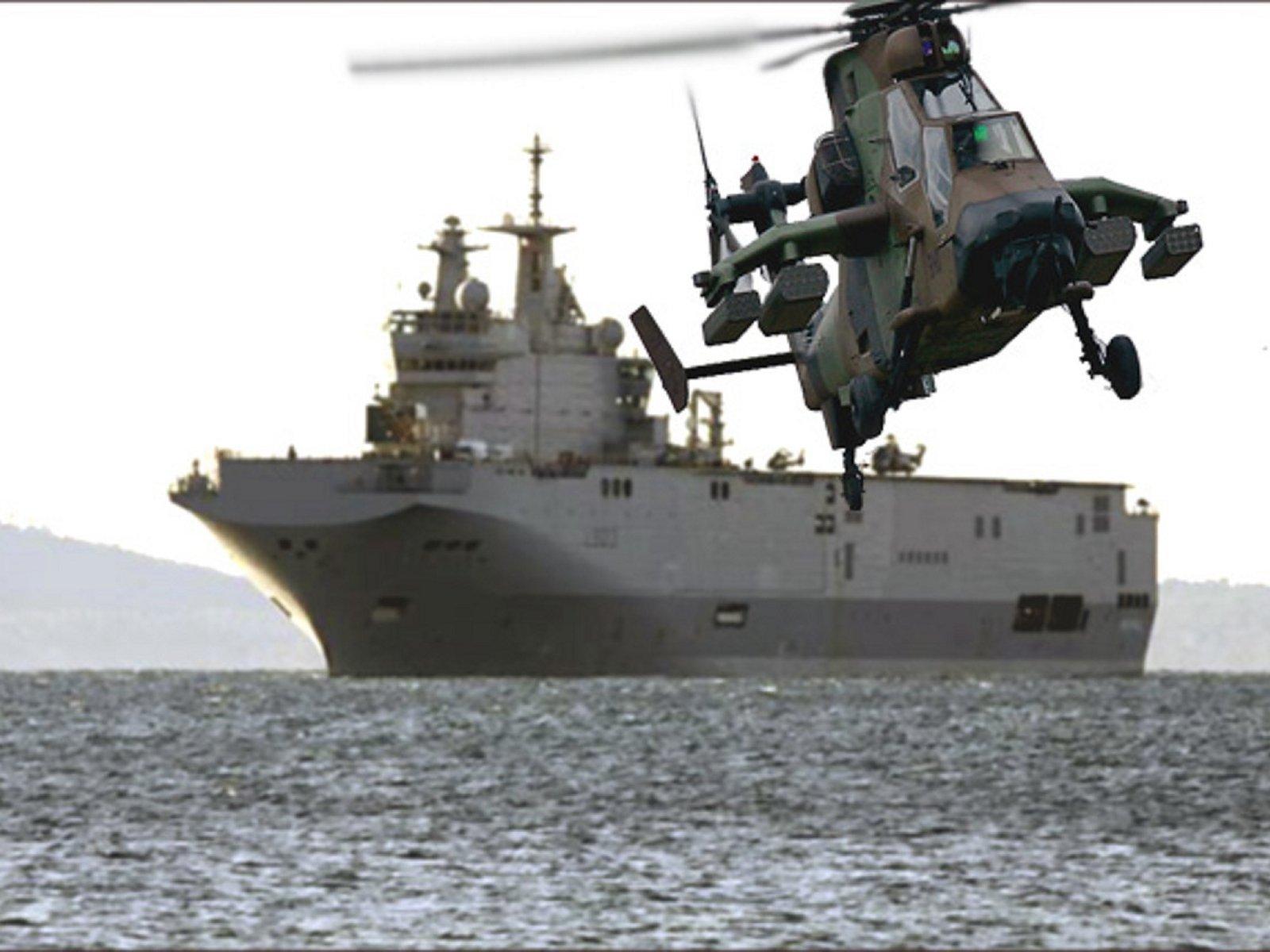 «روس تيخ»: روسيا مستعدة لتزويد «ميسترال» بالمروحيات دعما لمصر