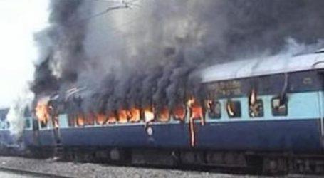 السكة الحديد تنجح في تحديد هوية المتهم بحرق عربة القطار 1203