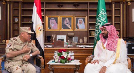 بالصور .. الفريق أول صدقى صبحى يلتقى وزير الدفاع السعودى خلال زيارته للمملكة العربية السعودية