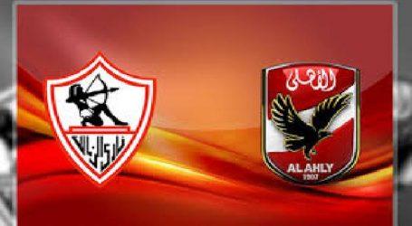 بدء الشوط الثاني من مباراة القمة بين الأهلي والزمالك في نهائي كأس مصر