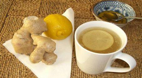 وصفة بسيطة لتحضير شاي الزنجبيل بالعسل