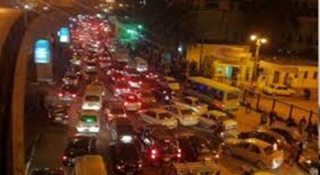شلل مرورى على طريق «مصر -إسكندرية» الصحراوى