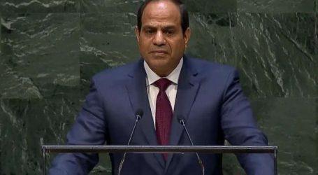 السيسي: ذبح المصريين على شواطئ ليبيا نتيجة للتهاون مع الإرهاب
