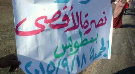 العشرات من «الإخوان» بكفر الشيخ ينظمون سلاسل بشرية ضد الاعتداء على الأقصى
