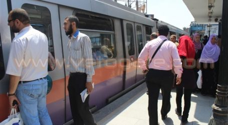زيادة عدد رحلات مترو الأنفاق استعدادا لبدء الدراسة