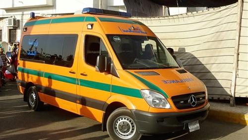 إصابة 39 شخصا في انقلاب أتوبيس رحلات بالمنيا