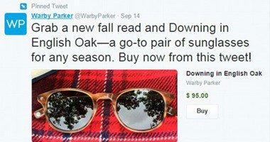 """تويتر تطلق زر """"شراء"""" يتيح للمستخدمين حول العالم الشراء عبر التغريدات"""