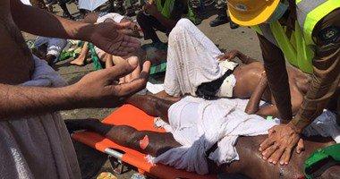 إصابة 10 حجاج مصريين في حادث تدافع منى