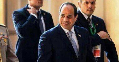 «السيسي» يصل الصالة الرئاسية بمطار القاهرة للتوجه إلى نيويورك