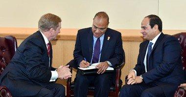 السيسى يعقد مباحثات مع رئيسة كرواتيا ورئيسى وزراء الهند وأيرلندا