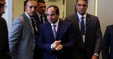 السيسي و رئيس بنما يبحثان سبل التعاون بين قناتي السويس و بنما