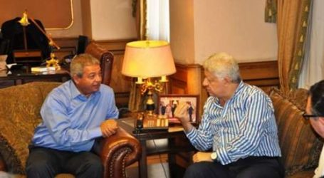 رئيس الزمالك يلتقي وزير الرياضة لحل أزمة حضور الجماهير مباراة النجم