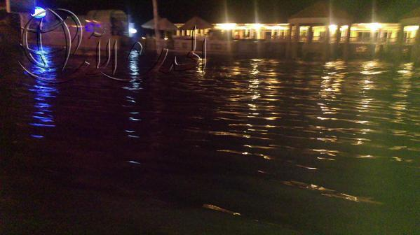 انقطاع الكهرباء بالتزامن مع هطول أمطار غزيرة بالإسكندرية