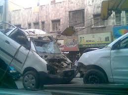 مصرع 6 وإصابة 4 أشخاص فى حادث مرورى بالزقازيق