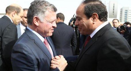 الرئيس السيسى وملك الأردن ينددان باقتحام القوات الإسرائيلية للمسجد الأقصى