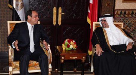 ولي عهد البحرين: مصر بقيادة السيسي تواصل دعم وحدة الصف العربي