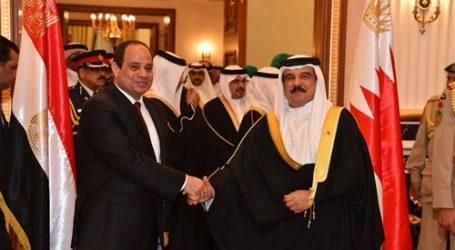 السيسي يثمن موقف البحرين الداعم لمصر
