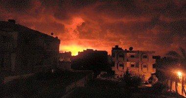 إصابة مصرى جراء سقوط قذيفة ببنغازى فى ليبيا