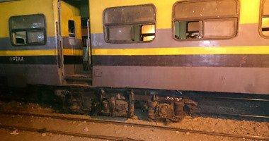 توقف حركة قطارات الصعيد لنشوب حريق على شريط السكة الحديد فى اسوان