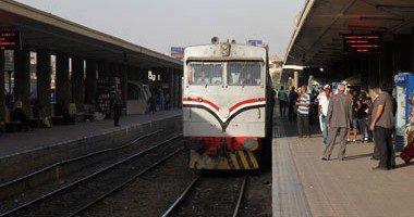تعطل خط قطار «كفر الزيات – القاهرة» بالغربية