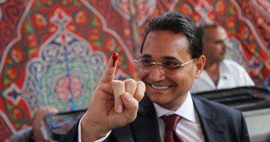 عبد الرحيم على: نجحت باكتساح.. والعليا للانتخابات المعنية بإعلان النتائج