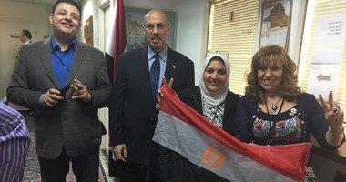 إقبال متوسط من المصريين بانتخابات البرلمان فى أمريكا
