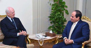 الرئيس السيسى: ثوابت الموقف المصرى تجاه الأزمة السورية لم تتغير