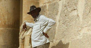 مورجان فريمان يغادر القاهرة بعد تصوير عدد من مشاهد فيلمه التسجيلى