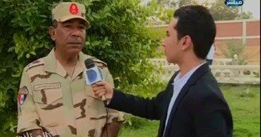 قائد الجيش الثانى: حق الشهيد يعود بالقضاء على كل عنصر تكفيرى فى سيناء
