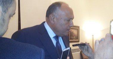سامح شكرى: بعض الدول تستغل حادث الطائرة للتأثير على اقتصاد مصر