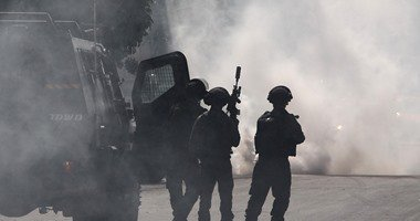 إصابة عدد من الفلسطينيين فى مواجهات مع الاحتلال قرب البالوع بالبيرة