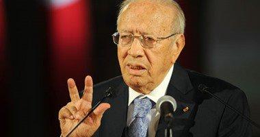 الرئيس التونسى يغادر القاهر بعد لقائه السيسى