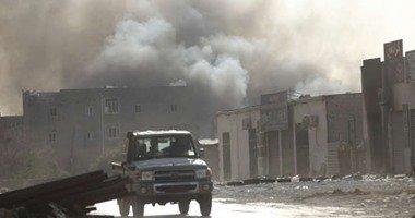 مسئول ليبى :مقتل 5 مدنيين وإصابة 35 جراء سقوط قذائف ببنغازى علي المتظاهرين