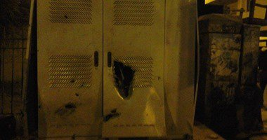 انفجار بكابينة كهرباء فى إمبابة.. ومصدر أمنى: لا شبهة جنائية