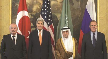 انتهاء اجتماع رباعي في فيينا وسط خلافات لحل الأزمة السورية