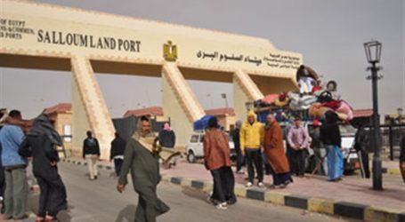 عودة 288 مصريا من ليبيا عبر منفذ السلوم خلال 24 ساعة
