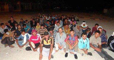 ضبط 232 شخصا جنسيات مختلفة فى هجرة غير شرعية بدمياط