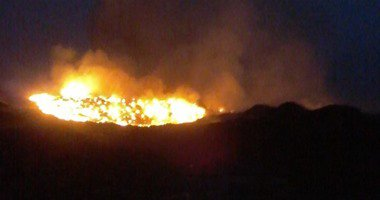 صحة إسكندرية: 5 متوفين و25 مصابا فى حريق بمصنع ملابس برج العرب