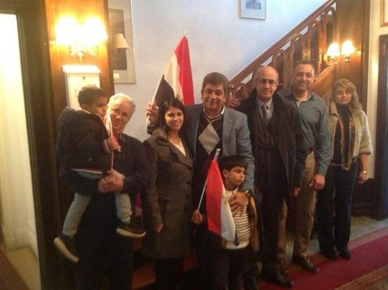 بالصور.. الجالية المصرية في ألمانيا تشارك في الانتخابات البرلمانية