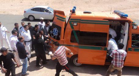 مصرع مجند وإصابة 19 آخرين فى انقلاب سيارة أمن مركزى بطريق الواحات