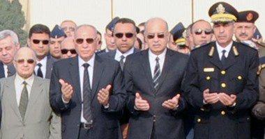 مجلس الدولة ووزارة العدل يتلقيان عزاء شهداء القضاء بمسجد المشير غدا