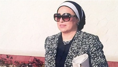 """سيدة مصر الأولى """" سعيدة بحضورى منتدى شباب العالم بمدينة السلام شرم الشيخ """""""