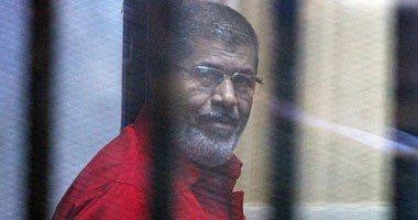 تأجيل محاكمة مرسى و10 آخرين فى قضية التخابر مع قطر لـ26 نوفمبر