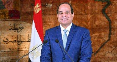 الرئيس السيسى يغادر القاهرة فى طريقه إلى بريطانيا