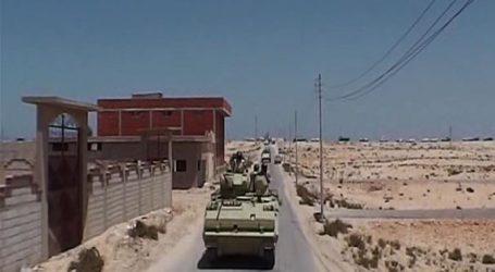 مقتل 3 إرهابيين فى محاولة استهداف كمين أمنى جنوب الشيخ زويد