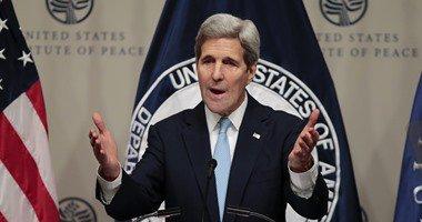 جون كيرى: تصريحات بشار الأسد توضح أنه سبب الهجمات على باريس
