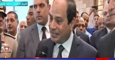 """السيسى لـ""""النهار"""": """"محدش يقدر يغلب المصريين.. ونجوع بس بلدنا تفضل بسلام"""""""