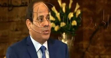 السيسى لـBBC: الرأى العام المصرى رافض لفكرة المصالحة بسبب حجم عنف الإخوان