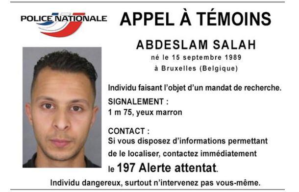 الشرطة الفرنسية تنشر أول صورة لمتهم بهجمات باريس