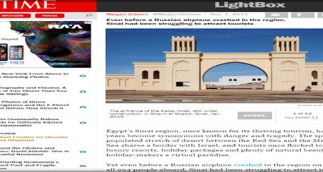 مجلة (تايم) الأمريكية : لماذا غادر السياح منطقة سيناء